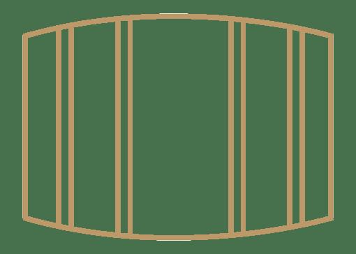 K-RAX Bordeaux Barrel Storage